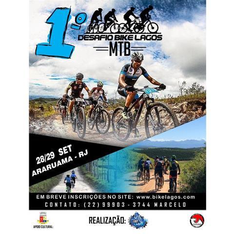 imagem do evento 1º Desafio Bike Lagos de MTB