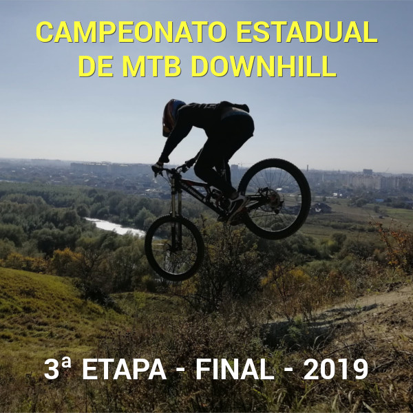 imagem do evento 3ª Etapa Campeonato Estadual de Downhill
